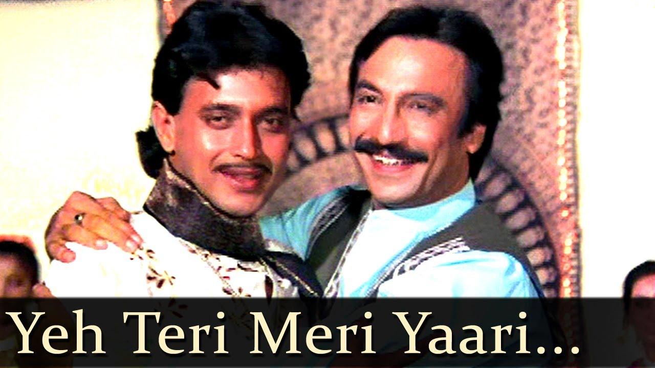 Teri Meri Yaari Lyrics - Mohammed Aziz, Suresh Wadkar