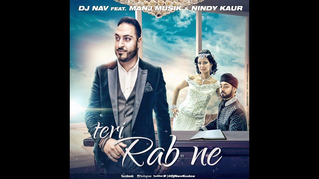 Teri Rabb Ne (Title) Lyrics - DJ Nav, Manj Musik, Nindy Kaur