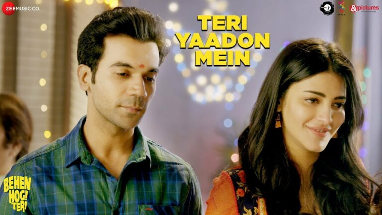 Teri Yaadon Mein Lyrics - Pavni Pandey, Yash Narvekar, Yasser Desai