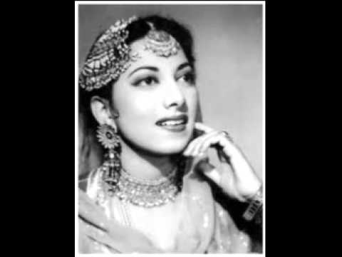 Thhumak Thhumak Jab Chaloon Main Lyrics - Suraiya Jamaal Sheikh (Suraiya)