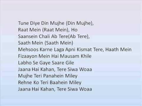 Tujhi Mein Lyrics - Krishnakumar Kunnath (K.K)