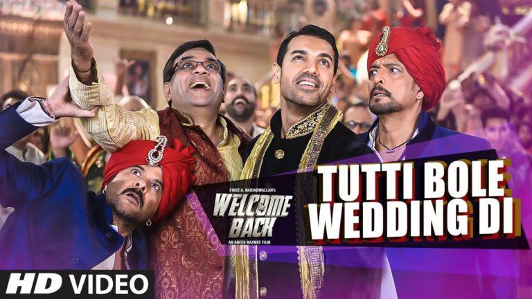 Tutti Bole Wedding Di Lyrics - Meet Bros Anjjan, Shipra Goyal