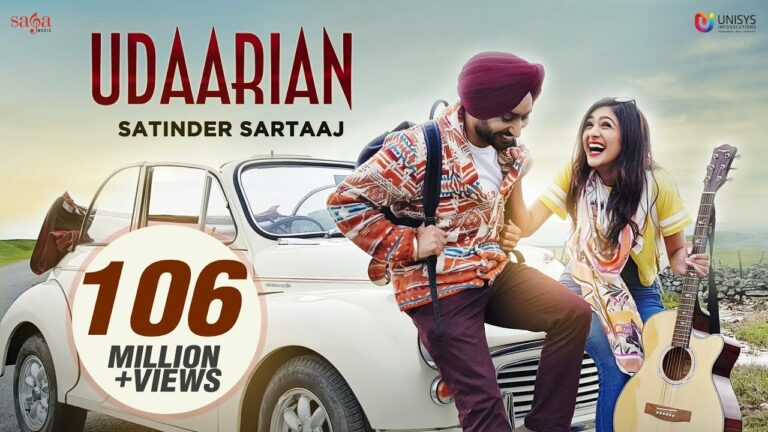 Udaarian Lyrics - Satinder Sartaaj