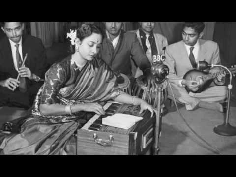 Unhe Apna Bana Lyrics - Geeta Ghosh Roy Chowdhuri (Geeta Dutt)
