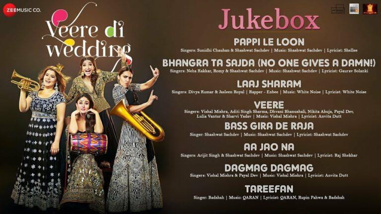 Veere Lyrics - Sharvi Yadav, Dhvani Bhanushali, Aditi Singh Sharma, Iulia Vantur, Nikita Ahuja, Payal Dev, Vishal Mishra