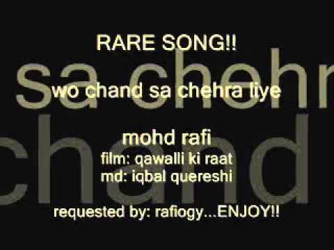 Wo Chand Sa Chehra Lyrics - Mohammed Rafi