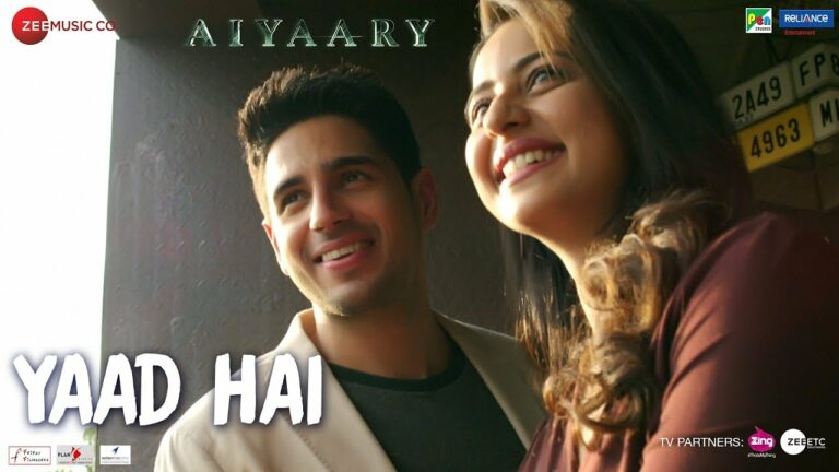 Yaad Hai Lyrics - Ankit Tiwari, Palak Muchhal