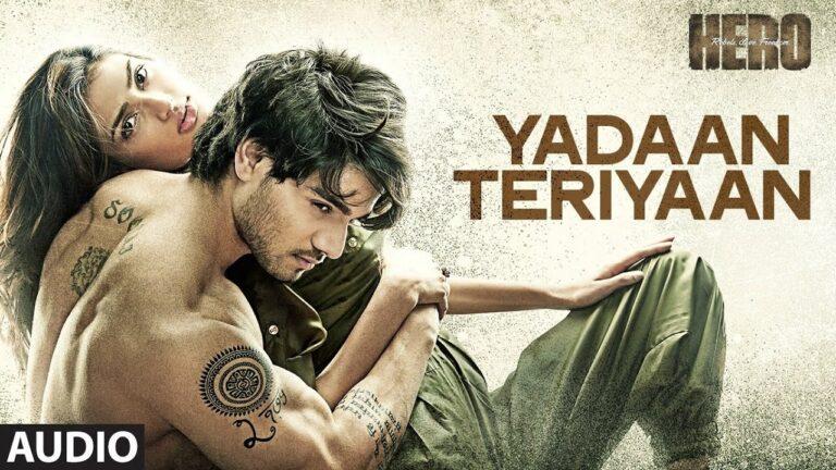 Yadaan Teriyaan Lyrics - Rahat Nusrat Fateh Ali Khan