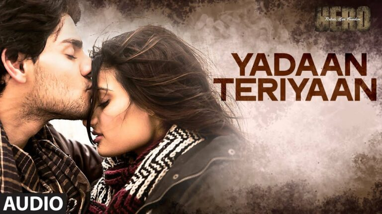 Yadaan Teriyaan (Duet) Lyrics - Dev Negi, Shipra Goyal