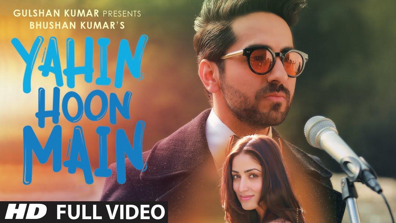 Yahin Hoon Main (Title) Lyrics - Ayushmann Khurrana