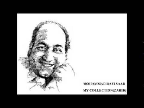 Yeh Aasmaan Yeh Baadal Lyrics - Mohammed Rafi