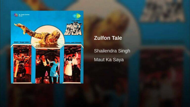 Zulfon Tale Lyrics - Shailendra Singh