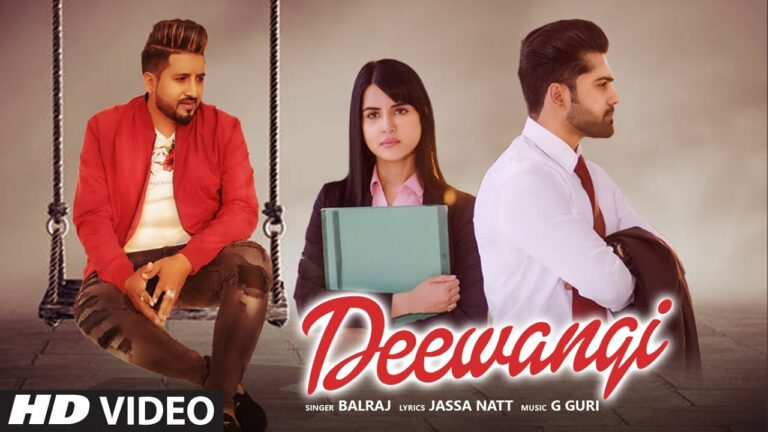 Deewangi Lyrics - Balraj
