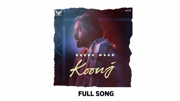 Koonj Lyrics - Babbu Maan