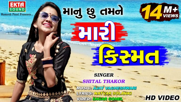 Manu chhu Tamne Mari Kismat Lyrics - Shital Thakor