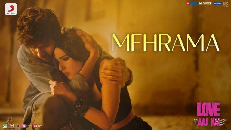 Mehrama Lyrics - Antara Mitra, Darshan Raval