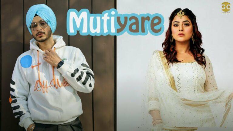 Mutiyare Lyrics - Navjeet