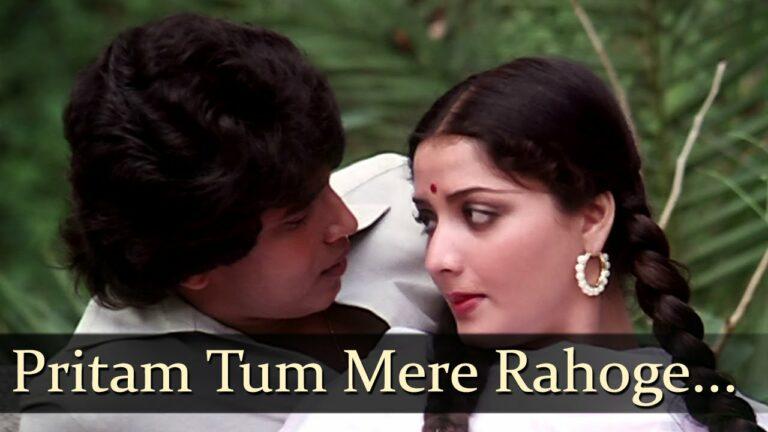 Pritam Tum Mere Rahoge Lyrics - Suresh Wadkar, Usha Khanna