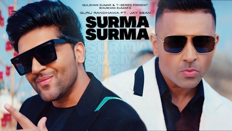Surma Surma Lyrics - Guru Randhawa, Jay Sean