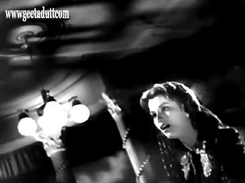 Taqdeer Ne Loota Mujhe Lyrics - Geeta Ghosh Roy Chowdhuri (Geeta Dutt)