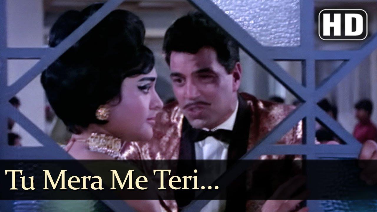 Tu Mera Main Teri Lyrics - Asha Bhosle, Mohammed Rafi