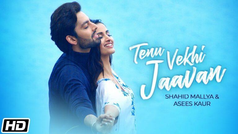 Tenu Vekhi Jaavan Lyrics - Shahid Mallya, Asees Kaur