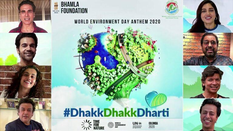 Dhakk Dhakk Dharti Lyrics - Adnan Sami, B Praak, Palak Muchhal, Papon, Payal Dev, Richa Sharma, Salim Merchant, Shaan, Shankar Mahadevan, Shweta Mohan