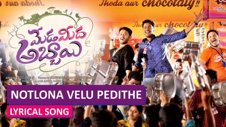 Notlona Velu Pedithe Lyrics - Vaikom Vijayalakshmi