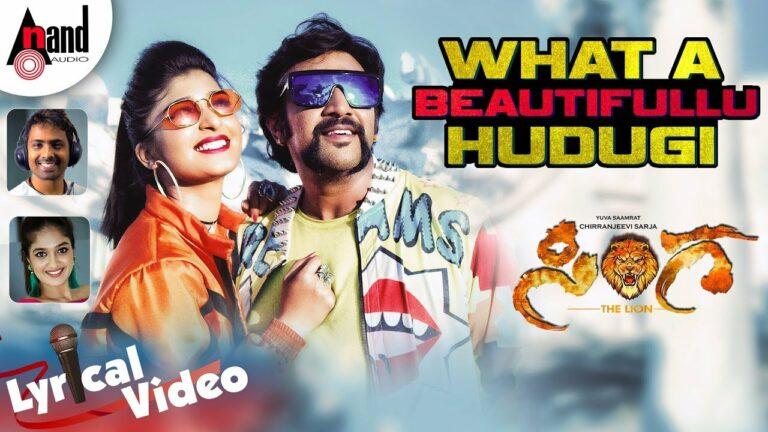 What A Beautifullu Hudugi Lyrics - Naveen Sajju, Meghana Raj
