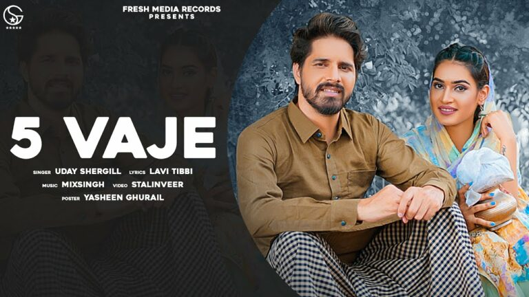 5 Vaje Lyrics - Uday Shergill