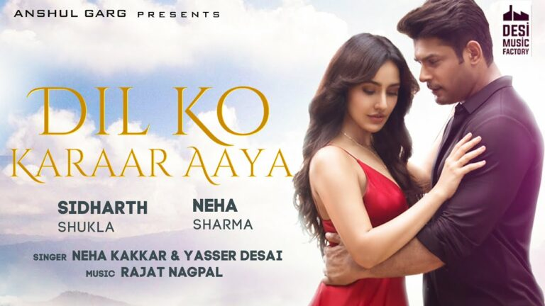 Dil Ko Karaar Aaya Lyrics - Neha Kakkar, Yasser Desai