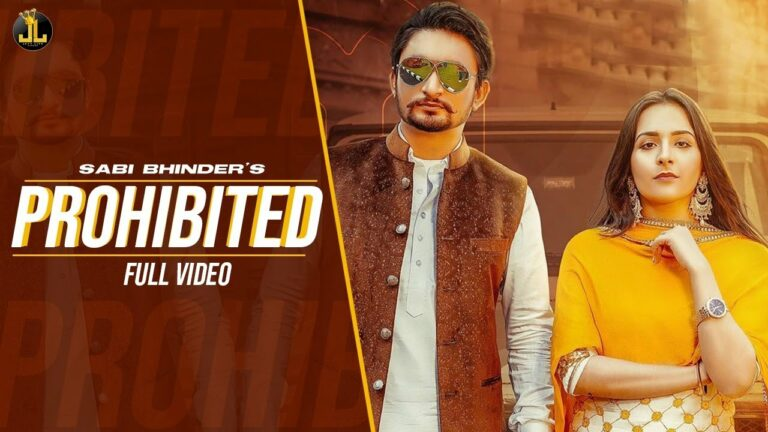 Prohibited Lyrics - Sabi Bhinder, Gurlej Akhtar