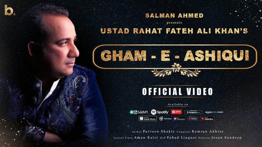 Gham-E-Ashiqui Lyrics - Rahat Nusrat Fateh Ali Khan