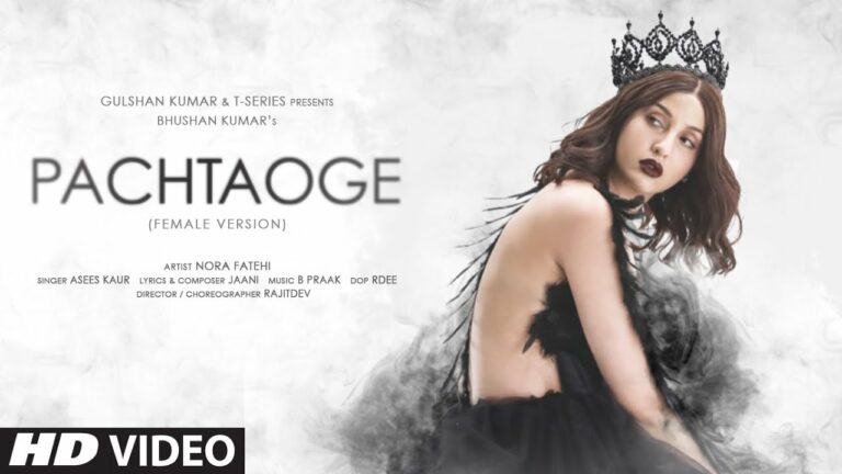 Pachtaoge (Female Version) Lyrics - Asees Kaur