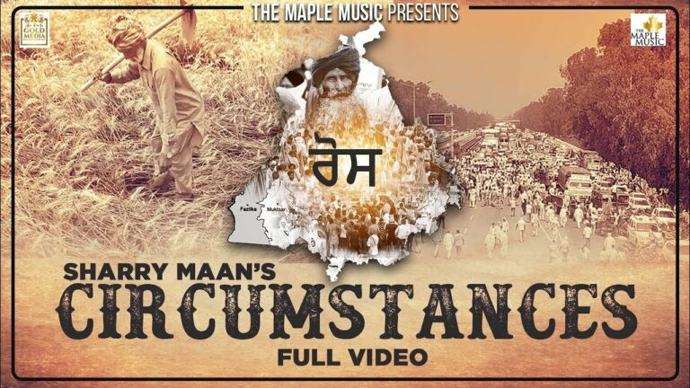 Circumstances Lyrics - Sharry Maan