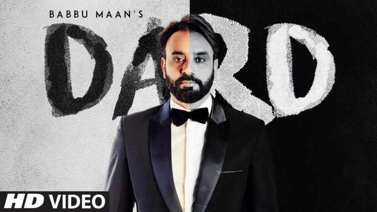 Dard Lyrics - Babbu Maan