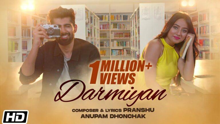 Darmiyan Lyrics - Anupam Dhonchak