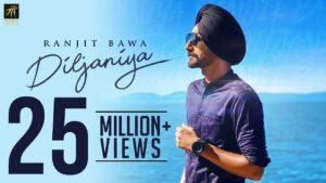 Diljaniya Lyrics - Ranjit Bawa