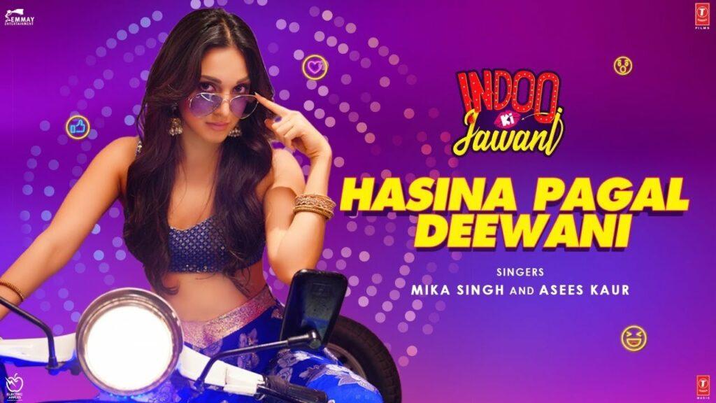 Hasina Pagal Deewani Lyrics - Asees Kaur, Mika Singh