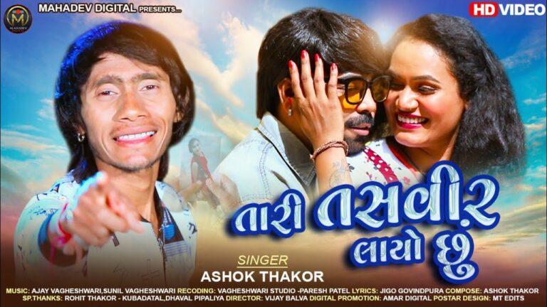 Tari Tasveer Layo Chhu Lyrics - Ashok Thakor