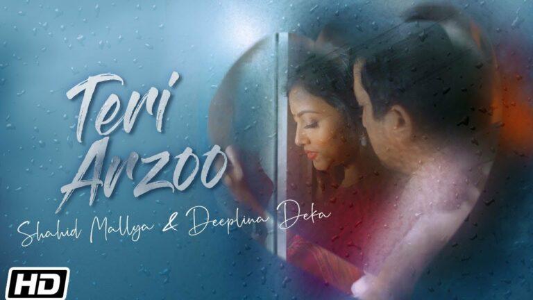 Teri Arzoo Lyrics - Shahid Mallya, Deeplina Deka