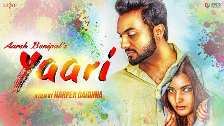 Yaari Lyrics - Aarsh Benipal
