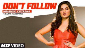 Don't Follow Lyrics - Garry Nandpuria, Himanshi Khurana