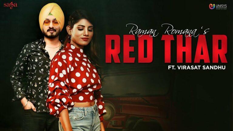 Red Thar Lyrics - Raman Romana