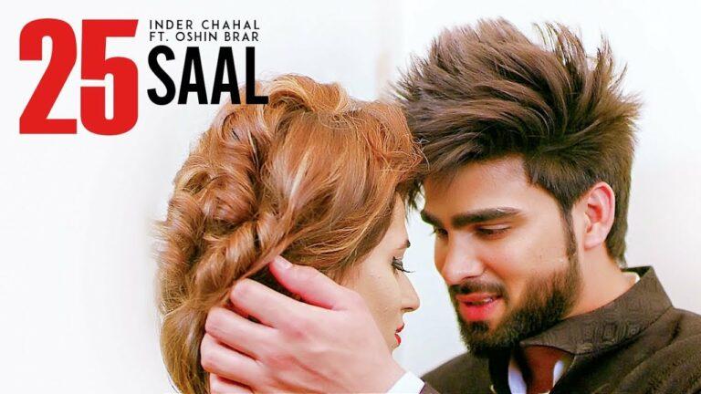25 Saal Lyrics - Inder Chahal