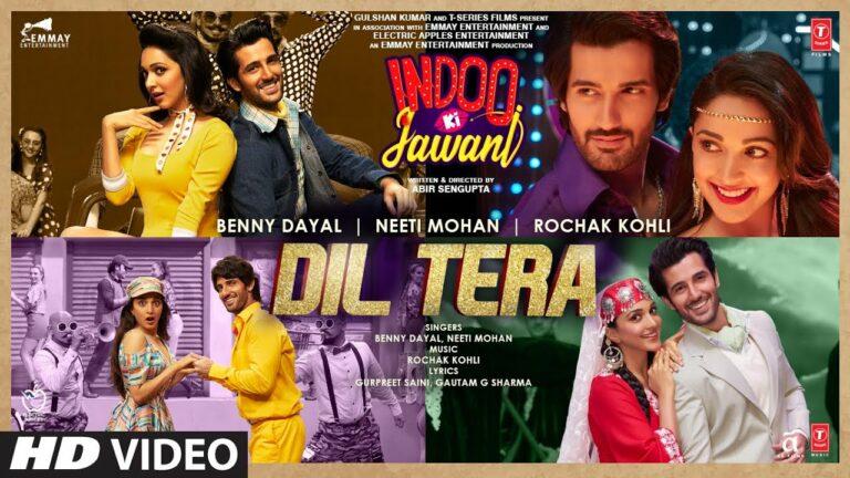 Dil Tera Lyrics - Benny Dayal, Neeti Mohan