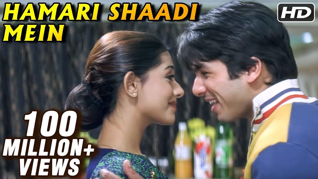 Hamari Shaadi Mein Lyrics - Babul Supriyo, Shreya Ghoshal