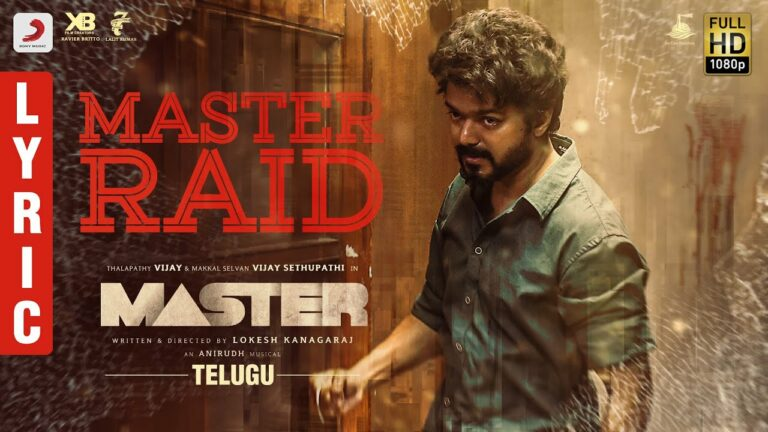 Master Raid Lyrics - Arivu
