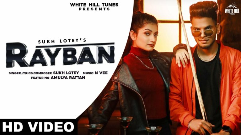 Rayban Lyrics - Sukh Lotey
