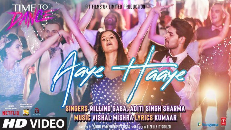 Aaye Haaye Lyrics - Aditi Singh Sharma, Millind Gaba (MG), Vishal Mishra